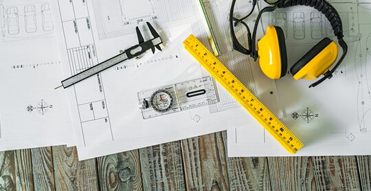 Residential home construction plan